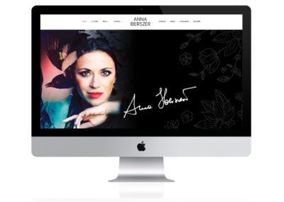 Prywatna strona www Pani Anny Iberszer