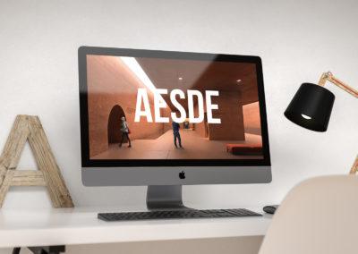 Strona dla firmy AESDE