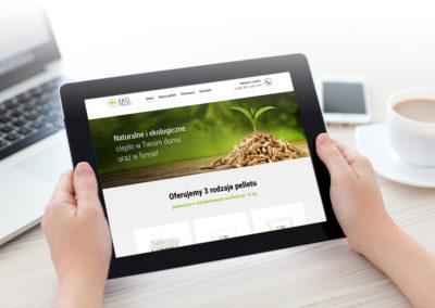 Strona www dla Firmy EkoPellet