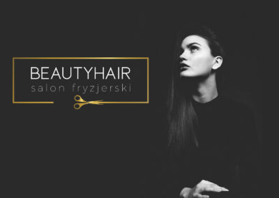 Projekt Logotypu BeautyHair